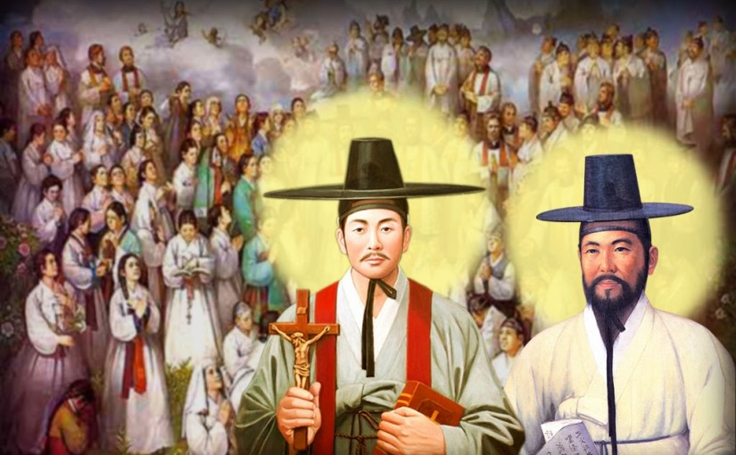 Saints Andrew Kim Tae-gŏn, Priest, and Paul Chŏng Ha-sang, and Companions, Martyrs