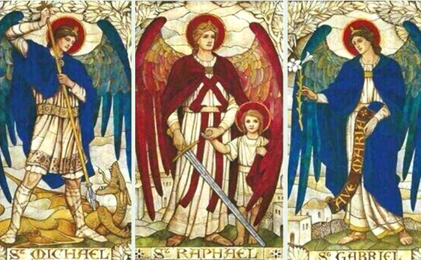 Saints Michael, Gabriel and Raphael, Archangels