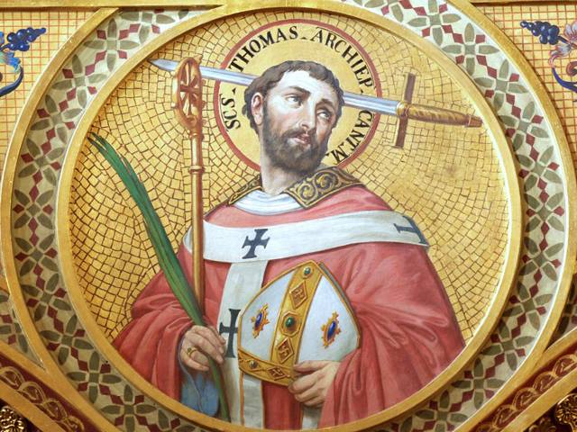 Saint Thomas Becket: Fifth Day in the Octave of Christmas