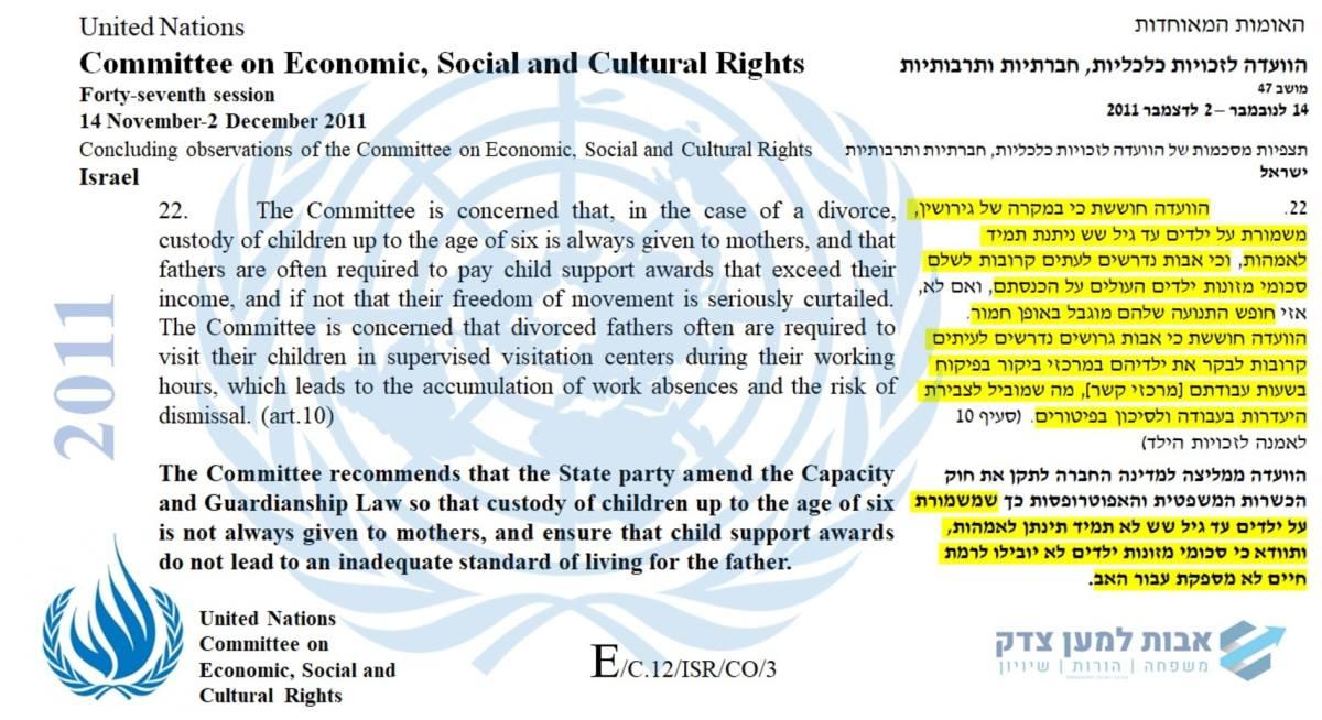 הוועדה לזכויות כלכליות, חברתיות ותרבותיות