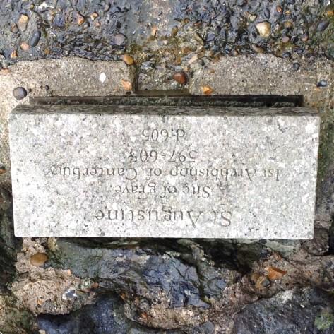 First Archbishop of Canterbury, St Augustine's gravesite
