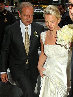 First pictures from Kelsey Grammer Kayte Walsh wedding