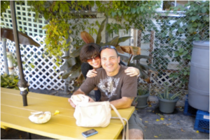 Lauren and Michael DelGandio