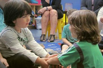 Preschoolers Learn Lessons in Emotional Literacy