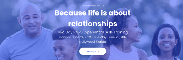 PAIRS Training June 2019 Hollywood Florida