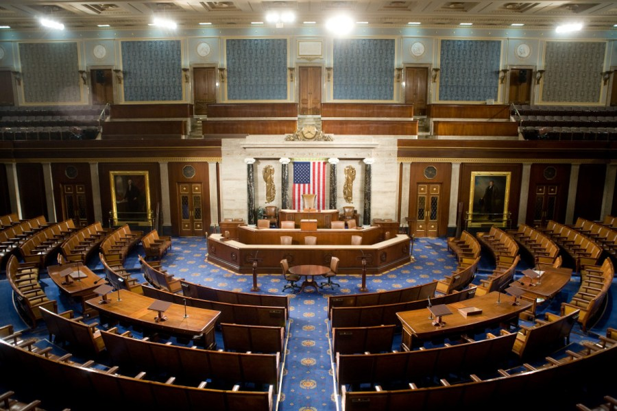 Chamber of U.S. House of Representatives