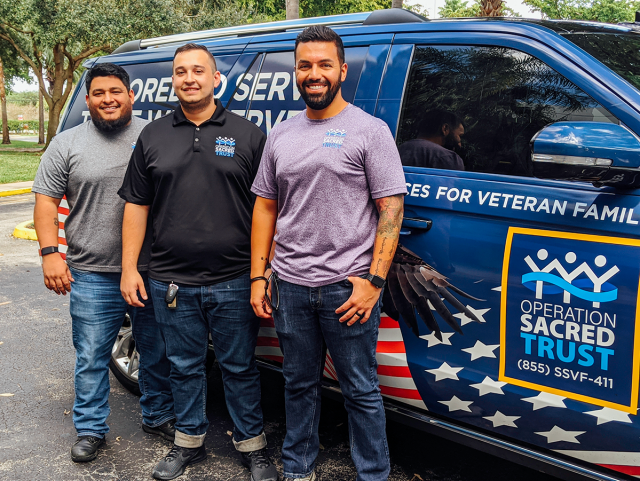 Operation Sacred Trust mobile services to low income veterans impacted by COVID-19