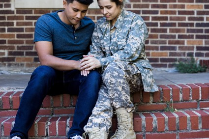 Military families can help public beat mental health pandemic