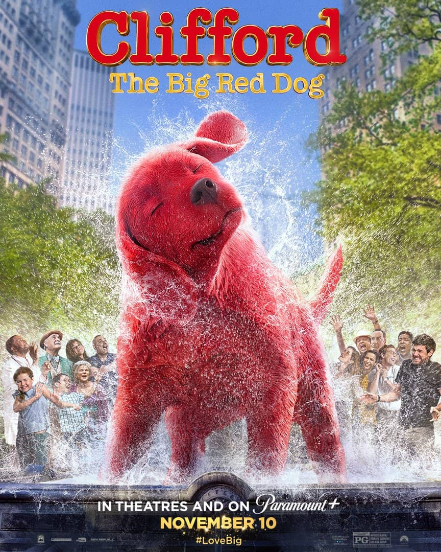 CLIFFORD THE BIG RED DOG: Final Trailer and Poster Released