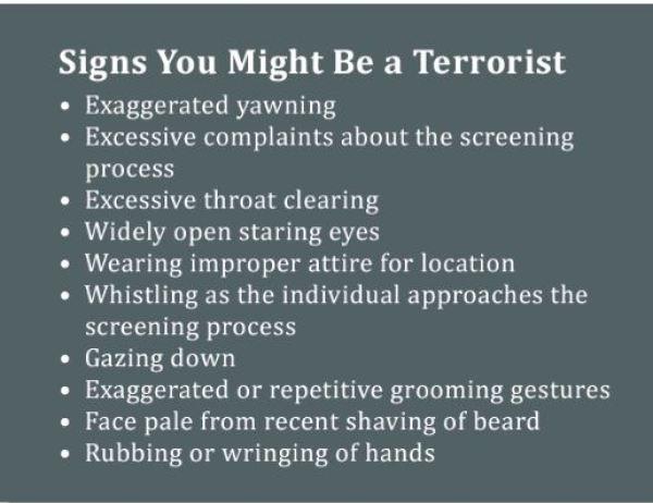 TSA Checklist