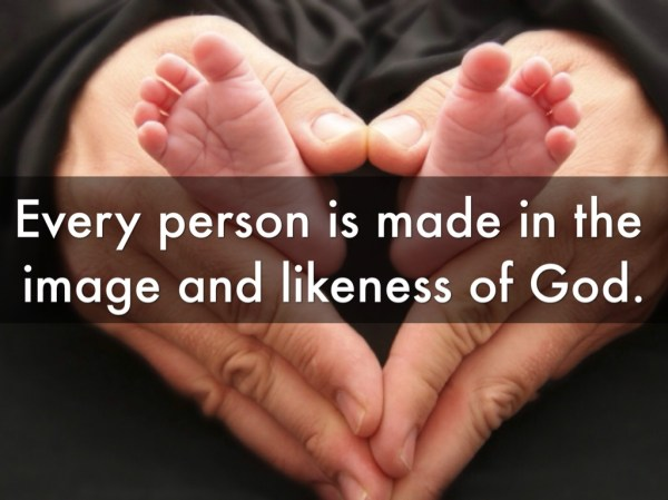 The beauty of man, created in the Living Image of God, is ...
