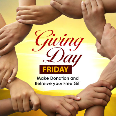 Friday is Giving Day! Retrieve Your Free Gift!