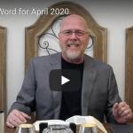 Breakthrough Word for April 2020 (Video)