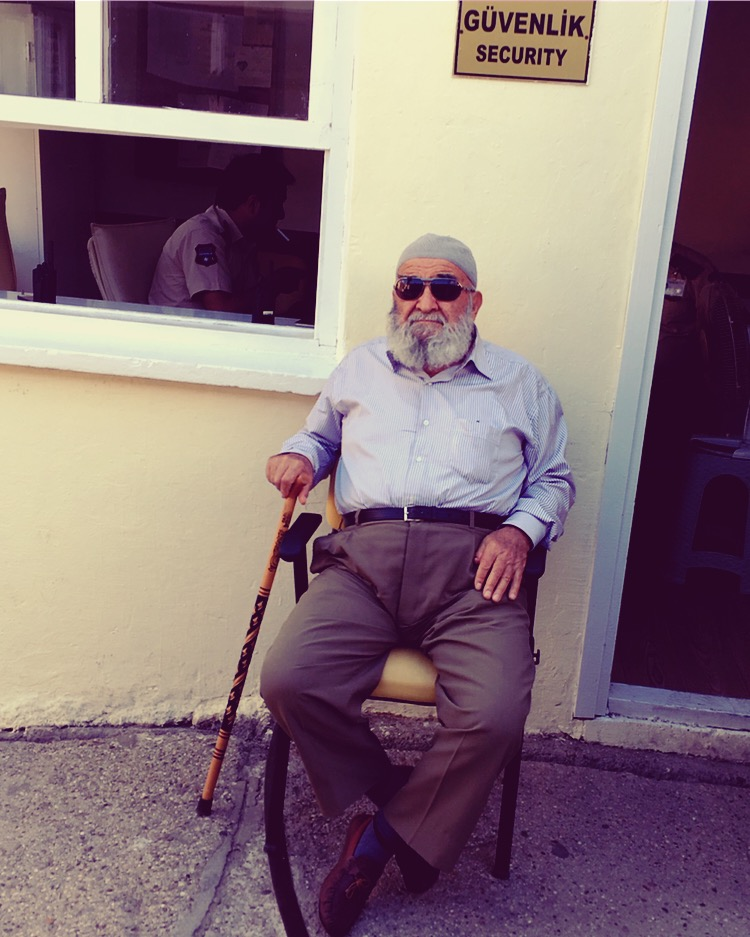 Some funny guy in Sinop, Turkey