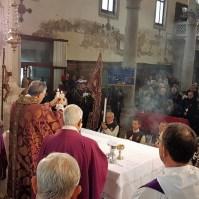 Commemorazione dei Fedeli Defunti a Venezia con il Patriarca Francesco Moraglia, Araldi del Vangelo-003