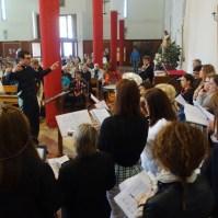 Messa di azione di grazia per il centenario delle apparizioni della Madonna a Fatima a Oriago (VE)-008