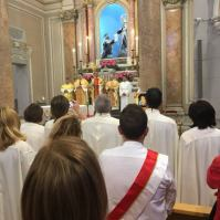 Madonna delle lacrime - Reliquiario a Messina.