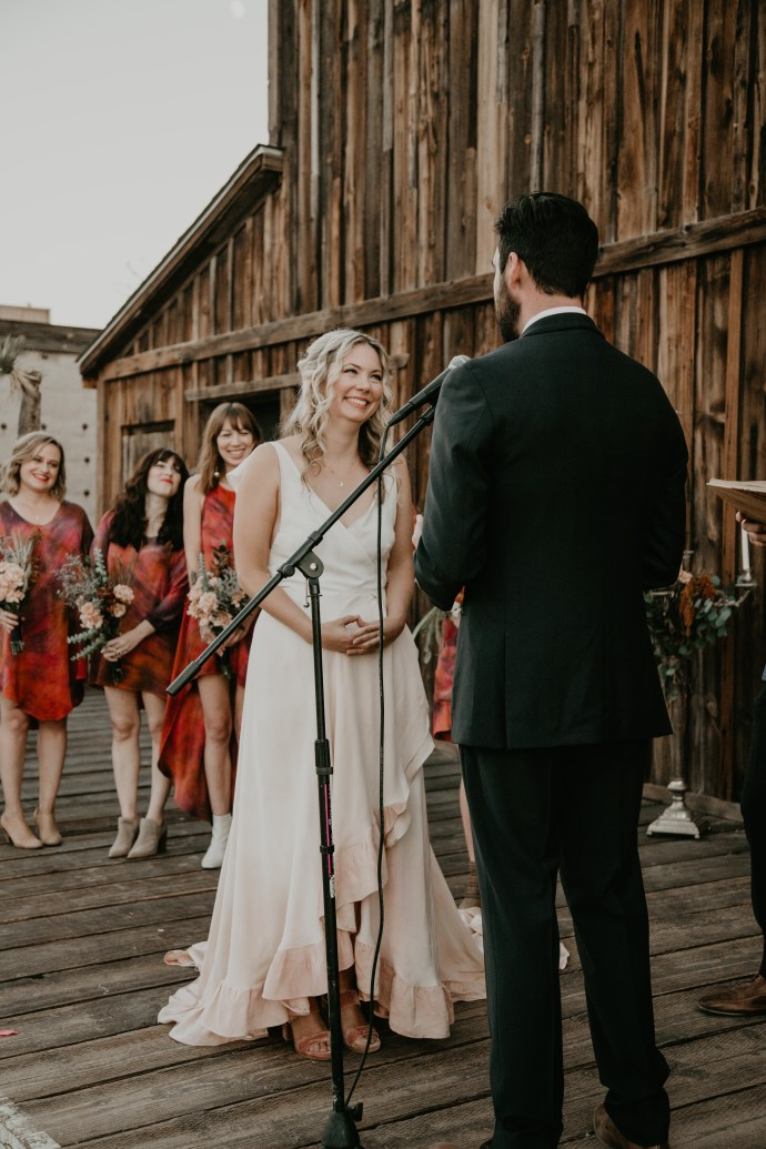 Pioneertown SoundStage Wedding, image by Fatima Elreda Photo