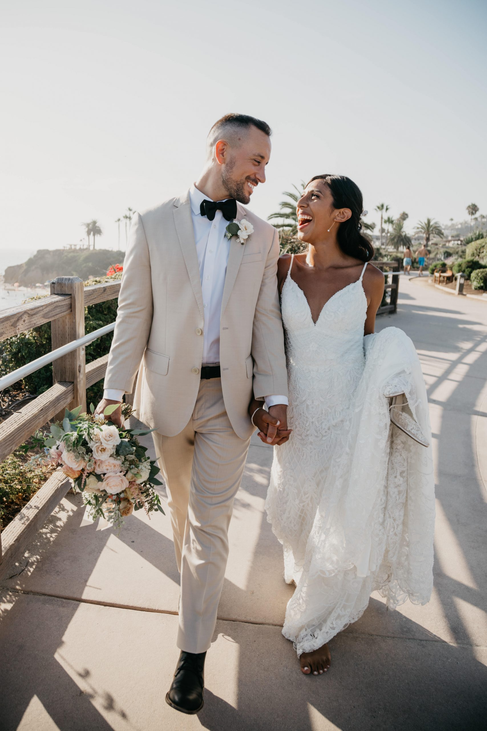 The Montage Laguna Beach Wedding Bridal Portraits, image by Fatima Elreda Photo