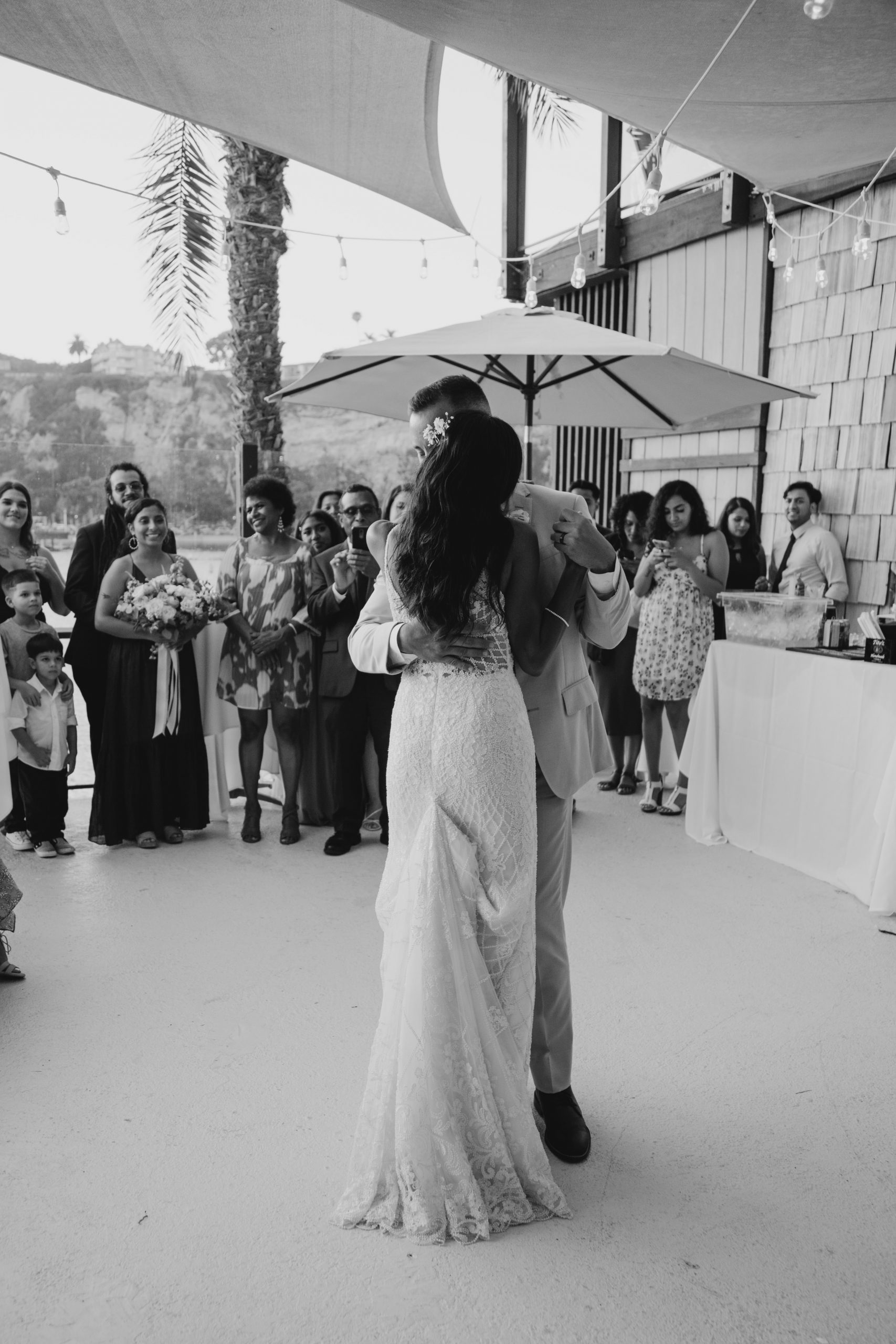 First dance as bride and groom, image by Fatima Elreda Photo