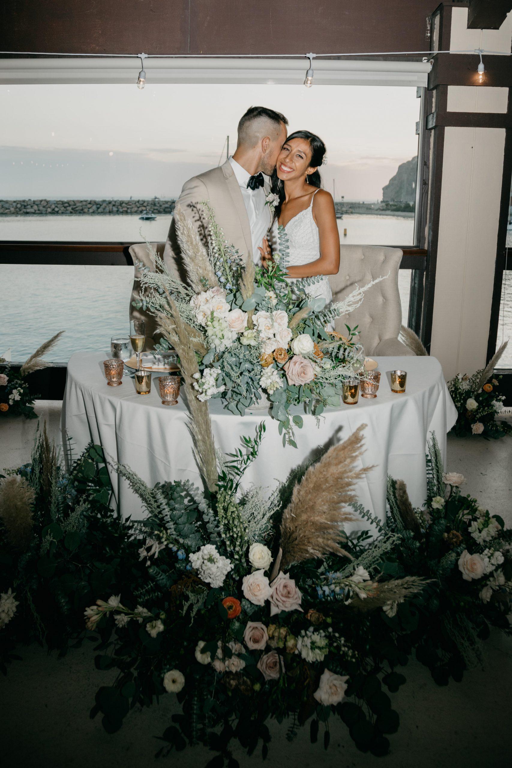 Bride and groom portrait, image by Fatima Elreda Photo
