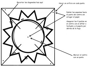 INSTRUCCIONES MILAGRO DEL SOL