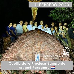 CAPILLA DE LA PRECIOSA SANGRE AREGUÁ PARAGUAY 300