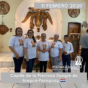 CAPILLA DE LA PRECIOSA SANGRE AREGUA PARAGUAY 3 300