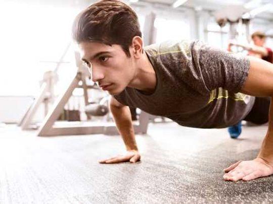 40 push-ups