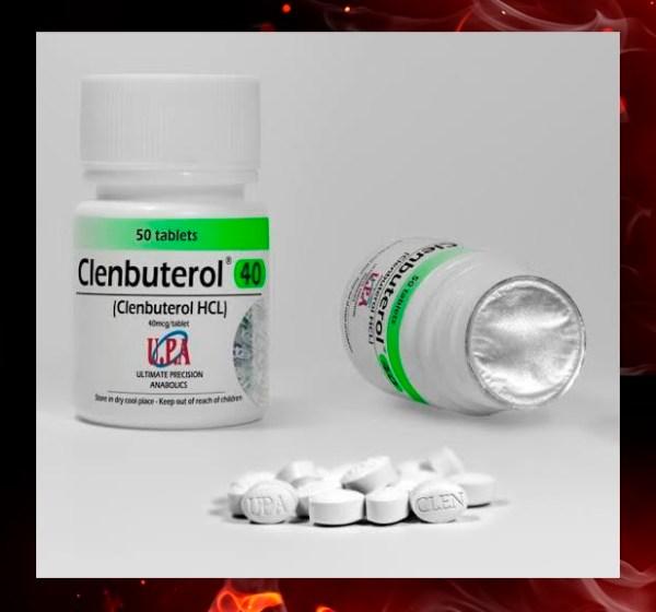UPA Clenbeuterol. 40mcg, 50 tabs