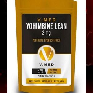 VMed Yohimbine lean. 100tabs, 2mg