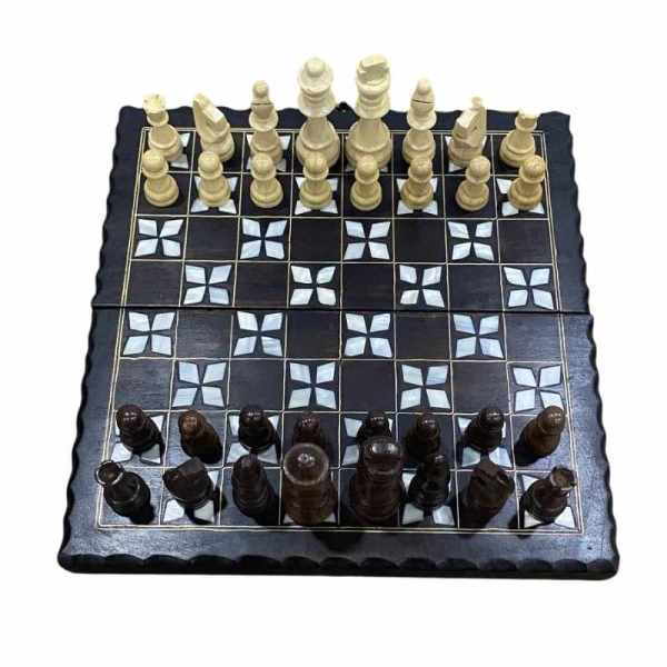 mother of pearl Chess