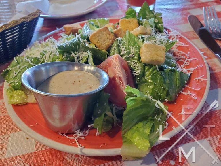 The side house salad from JJ Madwell's.
