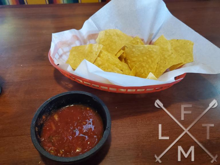 The chips and salsa from Charrito's House in Larkspur