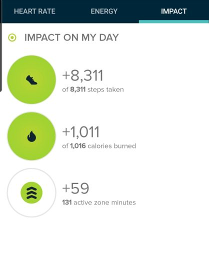 The step count for my hike from Forsythe Canyon and Gross Reservoir was 8,311 steps.