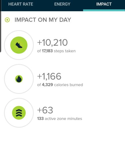 The Step Count to Ooh Aah Point was 10,210 steps