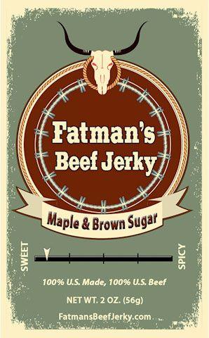 Maple Brown Sugar Beef Jerky