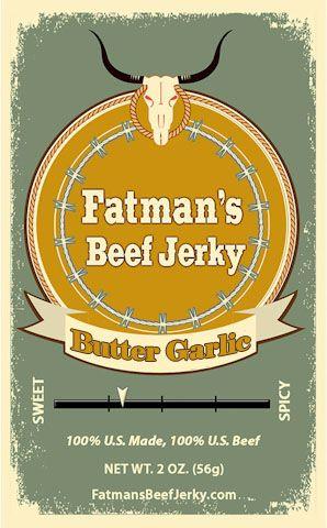 Butter Garlic Beef Jerky