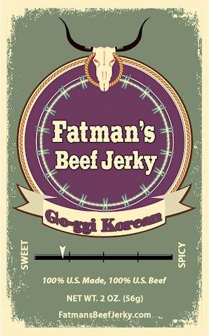 Go-ggi Korean Style Beef Jerky