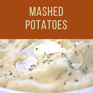 Thanksgiving Mashed Potatoes To Go