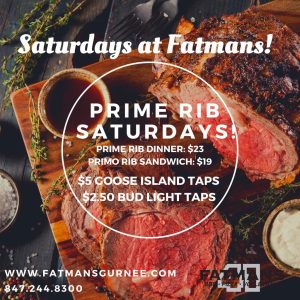 Fatmans Saturday Specials