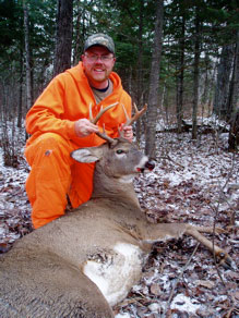 Scott shoots the biggest buck of his life