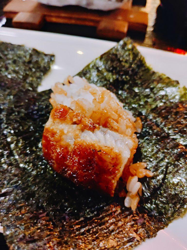 海苔包鰻魚