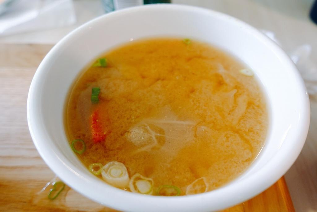 初食味噌湯