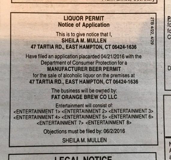 liquor permit post