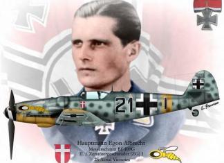 Egon Albrecht: o ás brasileiro na luftwaffe