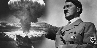 Hitler é a Bomba Nuclaer . - Fatos militares