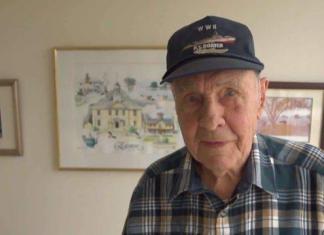 William Liebenow que participou do resgate de John F. Kennedy na Segunda Guerra Mundial