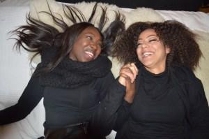 Binta och Fatou Foto: Fatou Touray
