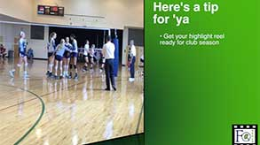 Volleyball recruiting tips